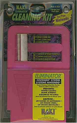 Naki Eliminator Cleaning Kit for Nintendo