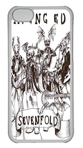 Avenged Sevenfold Album Art Custom iPhone 5C Case Cover Polycarbonate Transparent
