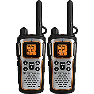Motorola MU350R 35-Mile Range 22-Channel FRS/GMRS Two Way Bluetooth Radio (Grey)