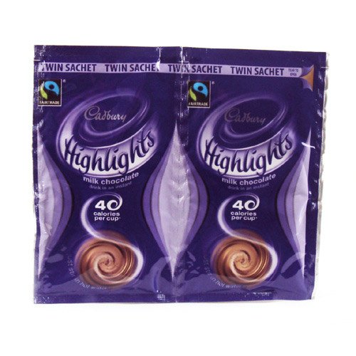 Cadburys Highlights Hot Chocolate Twin Pack 22g
