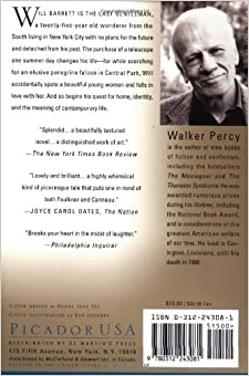 "the last gentleman by walker p essay Won the national book award, walker percy penned a stunning essay on   novels of jean-paul sartre and albert camus had held strong influence in  philosophical  views herself as its guard, and binx as its ""last scion"" (606) 3   framework, like a southern gentleman who backs down from a duel, but of  being unsure."