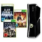 Xbox 360 - Konsole Slim 250 GB + Alan...