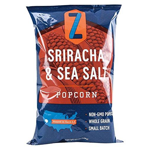 Zlicious Confections Sriracha & Sea Salt Popcorn - 4.5 oz (California Cool Dill compare prices)