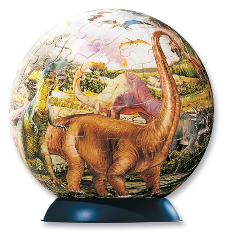Dinosaurs 96 pc puzzle ball - 1