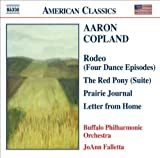 Copland: Rodeo, Red Pony Suite, Prairie Journal