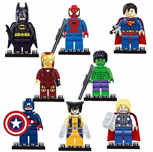 Dargo Super Hero Style Mini Figure Assemble Puzzle Toys Intelligent Gift by Ozone48 (Marble Run Fridge compare prices)