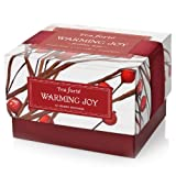 Tea Forte Petite Warming Joy Ribbon Box - 10 Silken Pyramid Tea Infusers