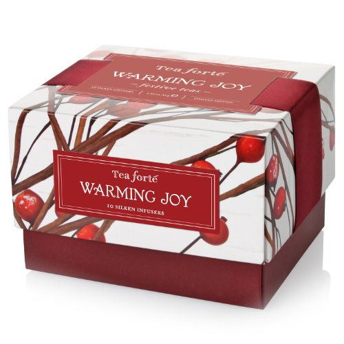 Tea Forte Petite Warming Joy Ribbon Box - 10