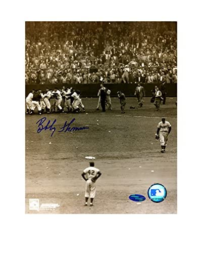 "Steiner Sports Memorabilia Shot Heard Round The World Jackie Thomson Signed Photo, 8"" x 10&quot..."