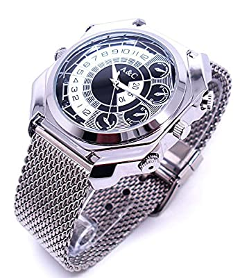 Mini Camcorders Mini Camera Watch DVR 32gb Hd 1080p with Ir Night Vision Function Supports Sound Activated Hd Waterproof SP1017BZ