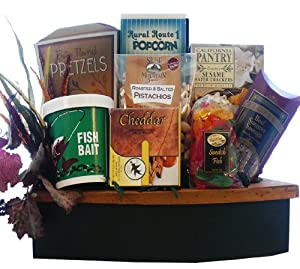 Art of Appreciation Gift Baskets  The Big Catch Snack Basket
