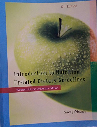 Intoduction to Nutrition: Updated Dietary Guidelines