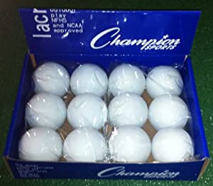 Buy Indoor Outdoor- Assorted NCAA NFHS Lacrosse Balls by Champion