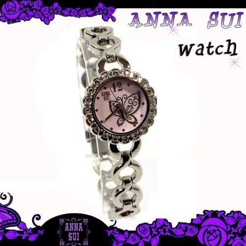 アナスイ 腕時計 アクセサリー 財布 バッグ スワロフスキー 白蝶貝 ピンク FCVK990 箱付き 並行輸入品