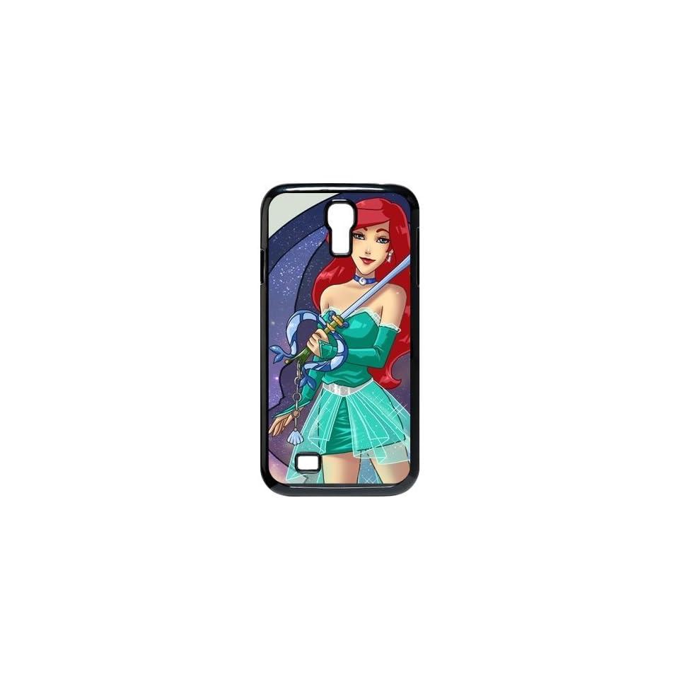 Disney Kingdom Hearts Ariel Disney the little Mermaid Photo Samsung Galaxy S4 Case for SamSung Galaxy S4 I9500 Plastic New Back Case