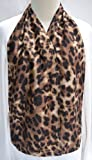 CravaatTM - Elegant Dining Scarf As Adult Bib (Leopard)