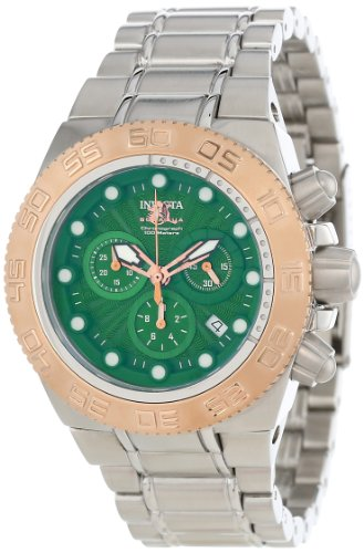 Invicta Men'S 10847 Subaqua Noma Iii Green Dial Stainless Steel Watch