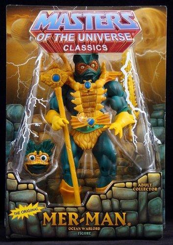 HeMan Masters of the Universe Classics Exclusive Action Figure MerMan
