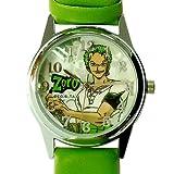 ワンピース《麦わら海賊団団》キャラウォッチ【ゾロ(グリーン)】アニメキャラクター腕時計通販