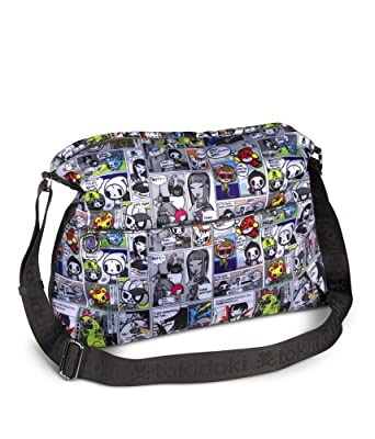 Tokidoki Continental Japanese Comic Messenger Bag