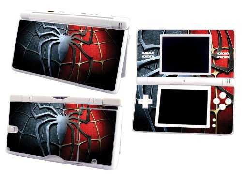 Bundle Monster Nintendo Ndsl Dsl Nds Ds Lite Vinyl Game Skin Case Art Decal Cover Sticker Protector Accessories - Spiderman