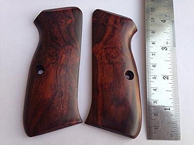 Rosewood Handmade Cz 75-85 Full Grips S&w Tauras Spring Field Kimber Colt