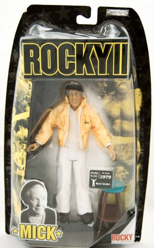 Buy Low Price Jakks Pacific Rocky Collector Series – Rocky 2 – Mick Goldmill – Rocky's Trainer Figure – Burgess Meredith – Limited Edition – Mint – Collectible – (F) (B001JBVGQG)
