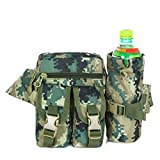 Surenow Sport Outdoor Military Rucksacks Tactical Molle Bag Camo Green