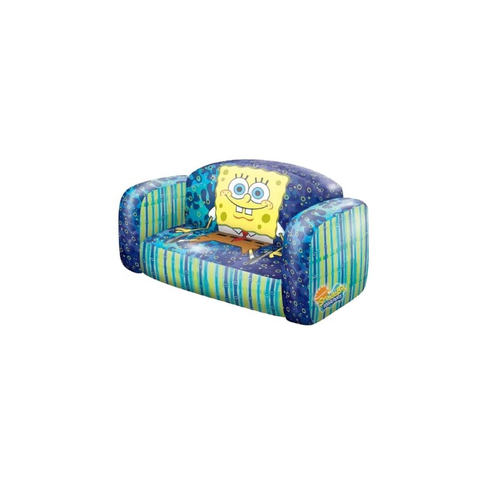 SpongeBob SquarePants Flip Open Sofa with Slumber Bag