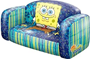 Nickelodeon Spongebob Inflatable Sofa By Rand