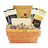 Lindts Deluxe Sampler Gift Basket