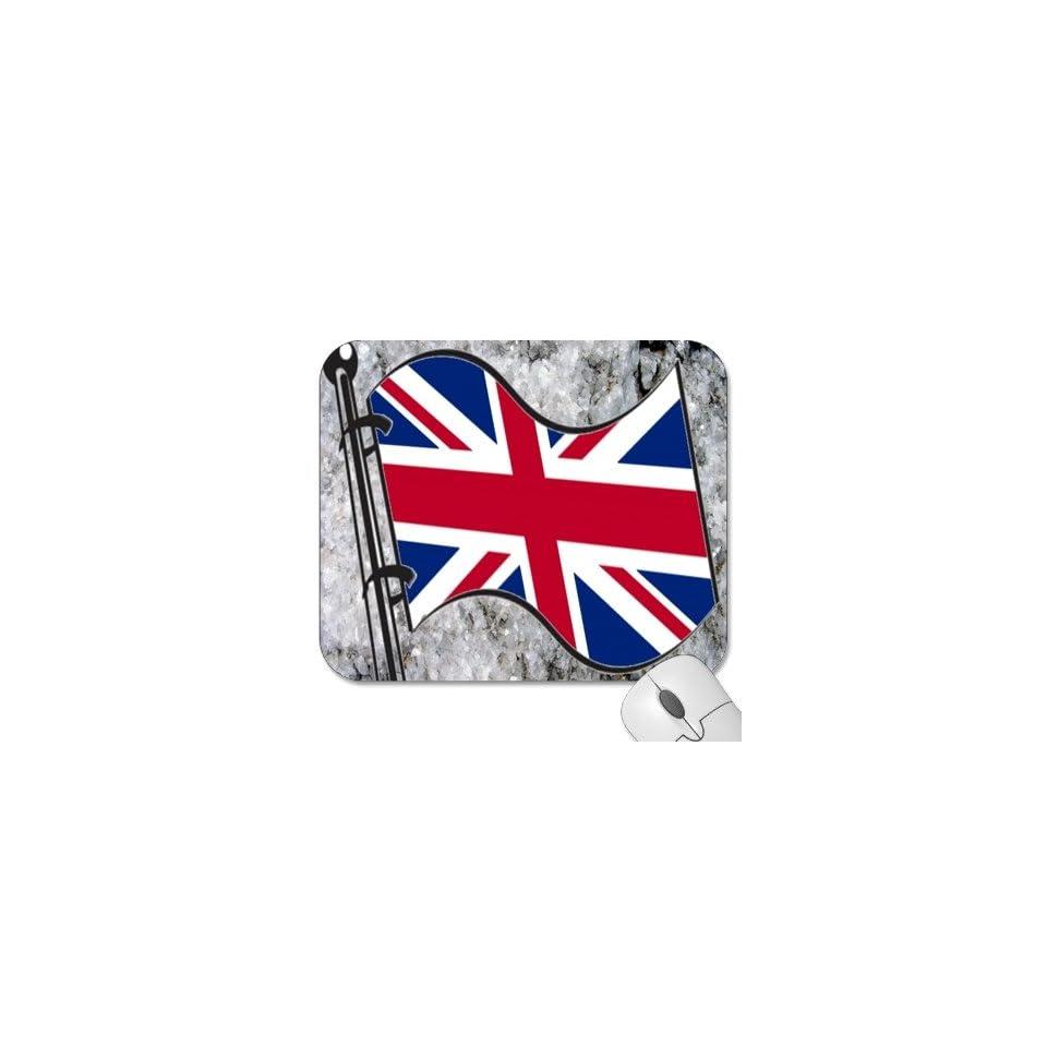 Mousepad   9.25 x 7.75 Designer Mouse Pads   Design Flag   United Kingdom (MPFG 198)