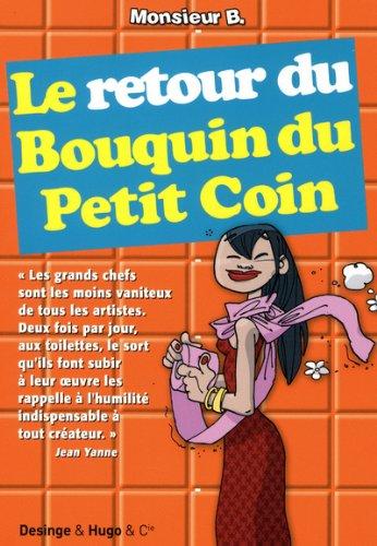 Le retour du Bouquin du Petit Coin