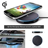NILLKIN TM Qi Standard Magic Disk Wireless Charger Pad, induction charger for Nexus 4 + 5 + 7(2013) / Lumia 822 920 / HTC X8