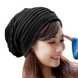 Mens Slouchy Beanie Knit Pattern : Amazon.com: ECOSCO Men Women Unisex Girl Striped Stripes Pattern Neck warmer ...