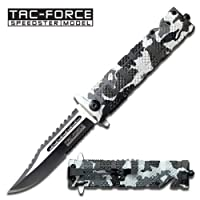 Tac Force TF-710DW Folding Knife 5-Inch Closed by Tac Force