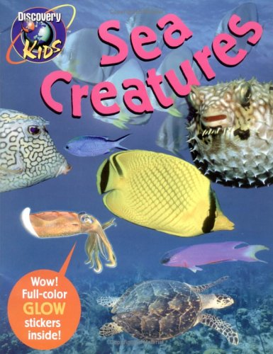 SEA CREATURES, Glow-in-the-Dark Sticker Book (Dark Sticker Books), Chris Madsen