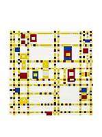 Especial Arte Lienzo Broadway Boogie Woogie - Mondrian Piet Multicolor