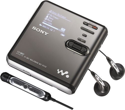 Sony MZ-RH10 Hi-MD Walkman Digital Music Player/Recorder