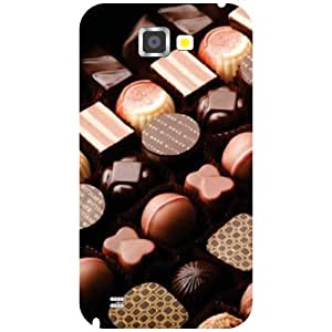 Samsung Galaxy Note 2 N7100 Phone Cover-Different Shapes Matte Finish Phone Cover
