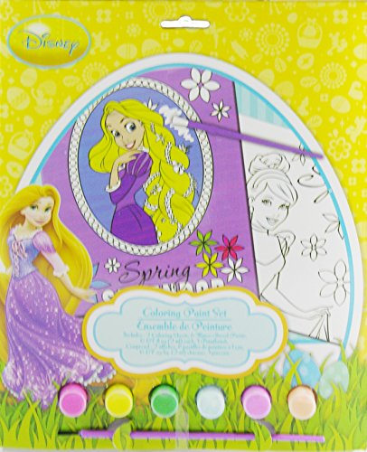 Disney Princess Easter Coloring Paint Set - 1