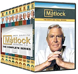 Matlock: The Complete Series Pack