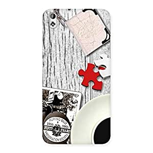 Impressive Vintage Style Multicolor Back Case Cover for HTC Desire 816g