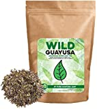 Organic Guayusa Tea, Loose Leaf Amazonian Superleaf Tea by Wild Foods, Full of Antioxidants and Caffeine, Smooth non-bitter flavor, Preserves Rainforest (#1 Pure Guayusa Leaf, 2 ounce)
