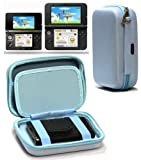 Navitech Blue Premium Travel Hard Carry Case Cover Sleeve For The Nintendo 3DS XL & 3DS