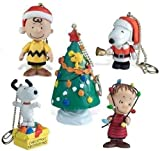 A Charlie Brown Christmas 2012 Peanuts Mini Figure Clip Ons Set Of 5
