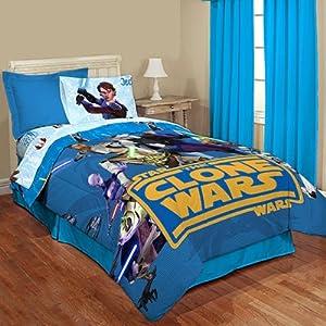 Star Wars Clone Wars Twin Single Bedding Comforter Amazon