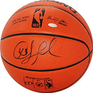 NBA Los Angeles Clippers Chris Paul Signed I O Basketball by Steiner Sports