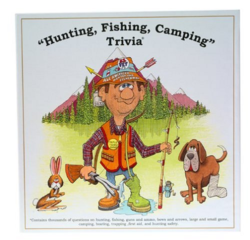 Buy Hunting, Fishing, & Camping Trivia Game