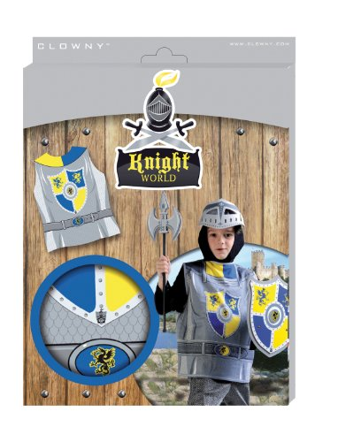 [SES Creative Knight World Knight Dragon Armor Dress Up Set] (Childrens Dressing Up Knights Outfit)